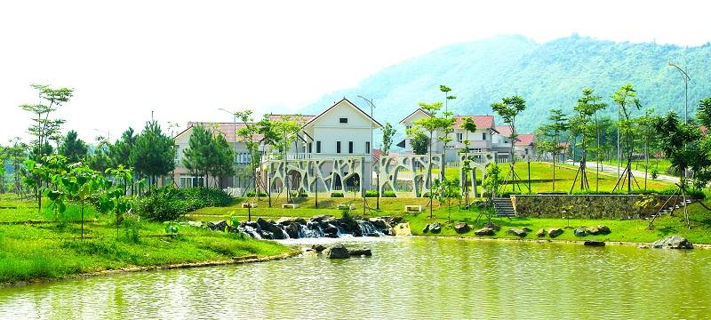 Hình ảnh thực tế 7 Xanh Villas Resort Hòa Lạc