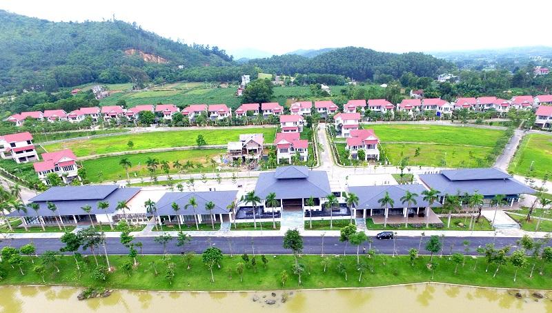 Hình ảnh thực tế Xanh Villas Resort Hòa Lạc