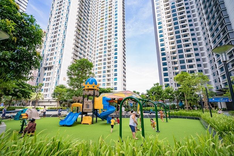 Khu vui chơi trẻ em dự án TNR Goldmark City 136 Hồ Tùng Mậu