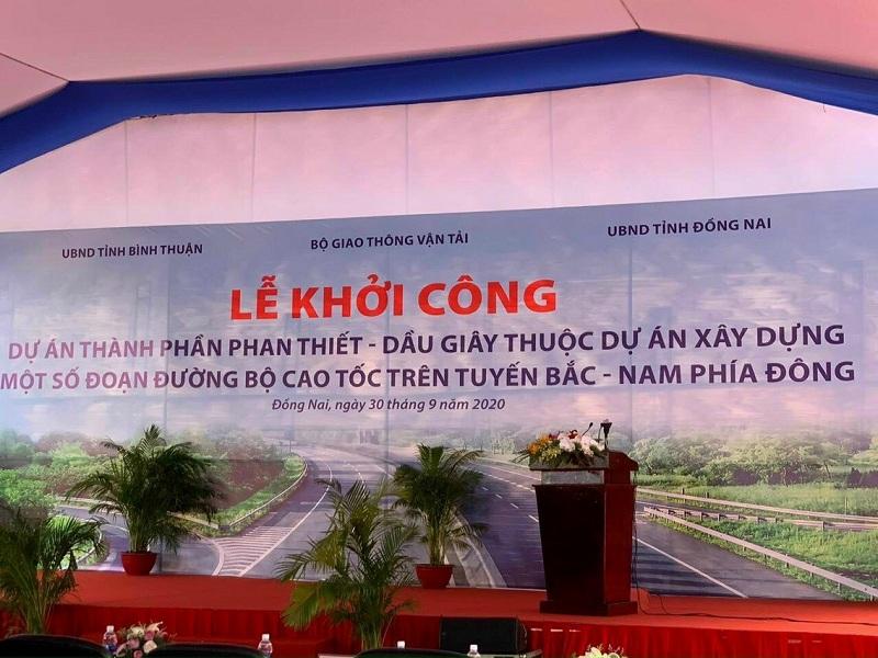 Lễ khởi công cao tốc Phan Thiết - Dầu Giây