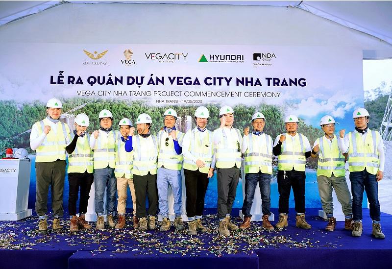 Lễ ra quân Vega City Bãi Tiên - Nha Trang