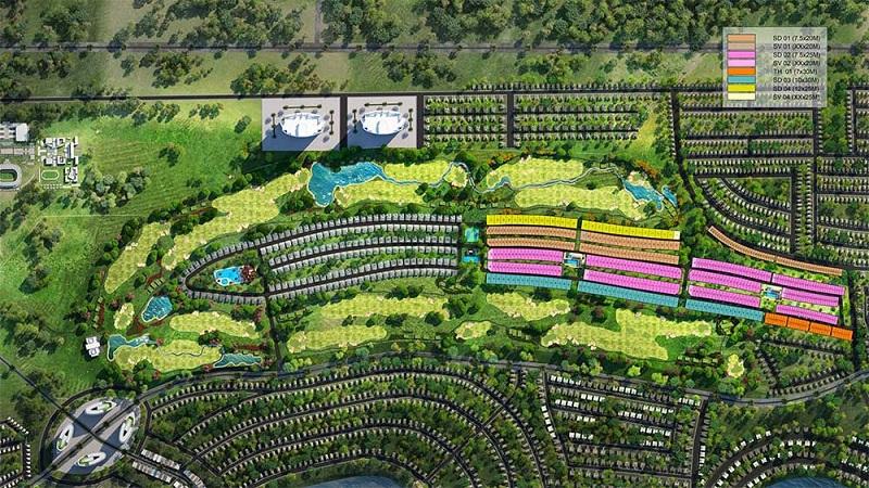 Mặt bằng tổng thể dự án Novaworld Phan Thiết - Bình Thuận