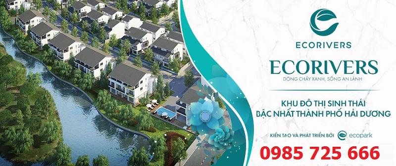 Mở bán Ecoriver Hải Dương (Ecopark)
