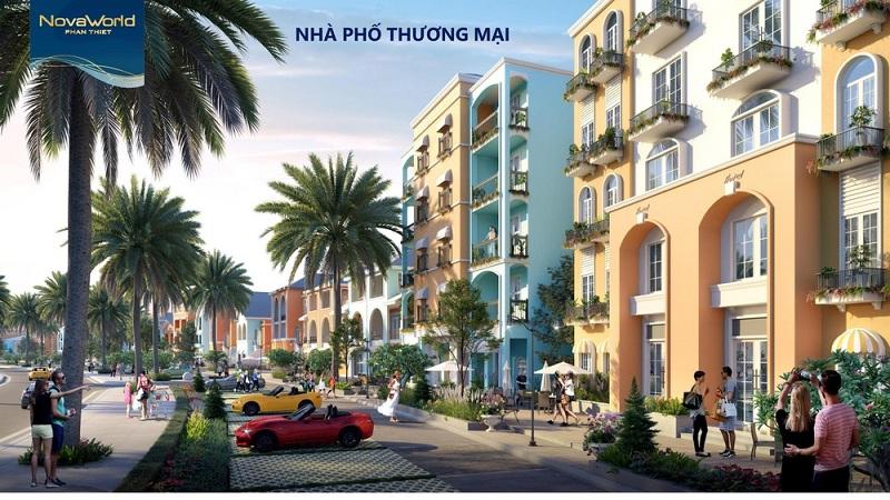 Nhà phố thương mại dự án Novaworld Phan Thiết - Bình Thuận