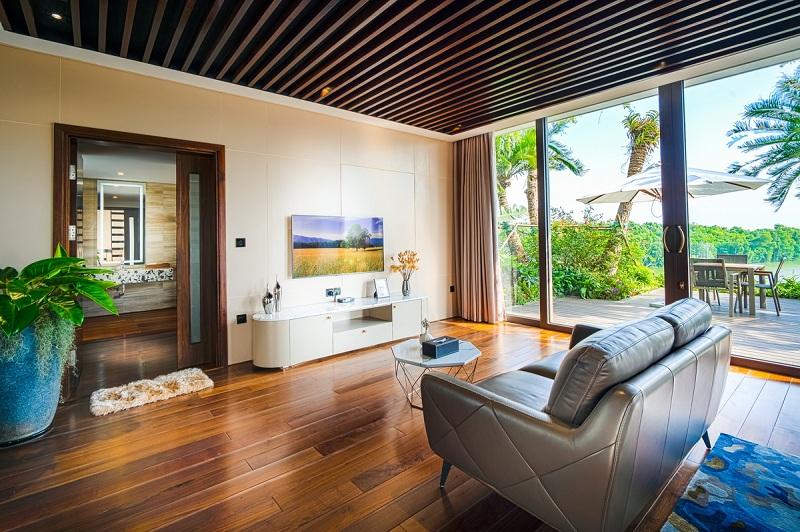 Nội thất 1 dinh thự Legend Mansion Flamingo Đại Lải Resort