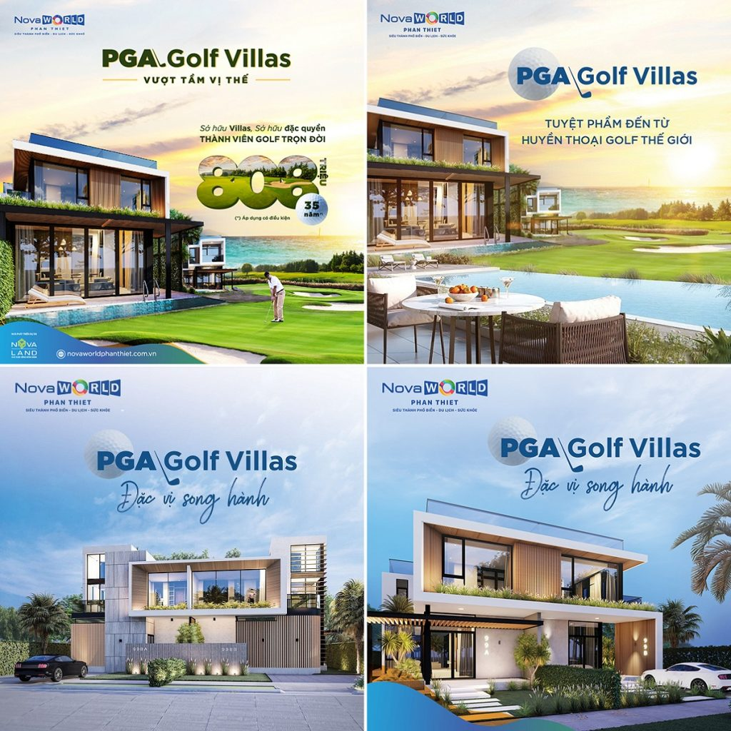 PGA Golf Villa dự án Novaworld Phan Thiết - Bình Thuận