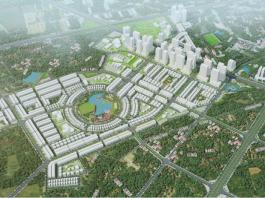 Phối cảnh 1 khu đô thị Hinode Royal Park Kim Chung - Di Trạch (Hoài Đức)