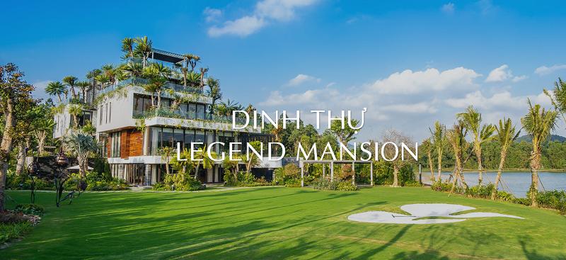 Phối cảnh 2 dinh thự Legend Mansion Flamingo Đại Lải Resort