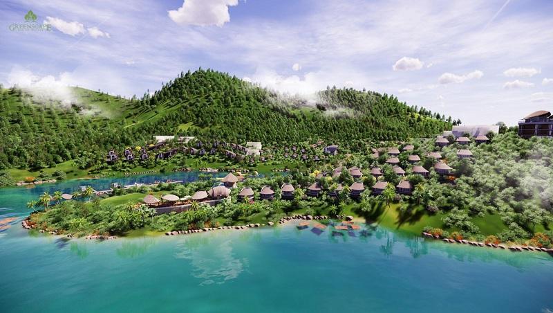 Phối cảnh 3 ParaHills Resort Hòa Bình