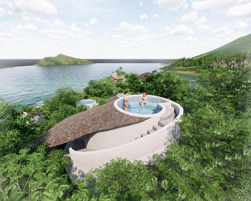 Phối cảnh 3 mẫu biệt thự Ốc ParaHills Resort Hòa Bình