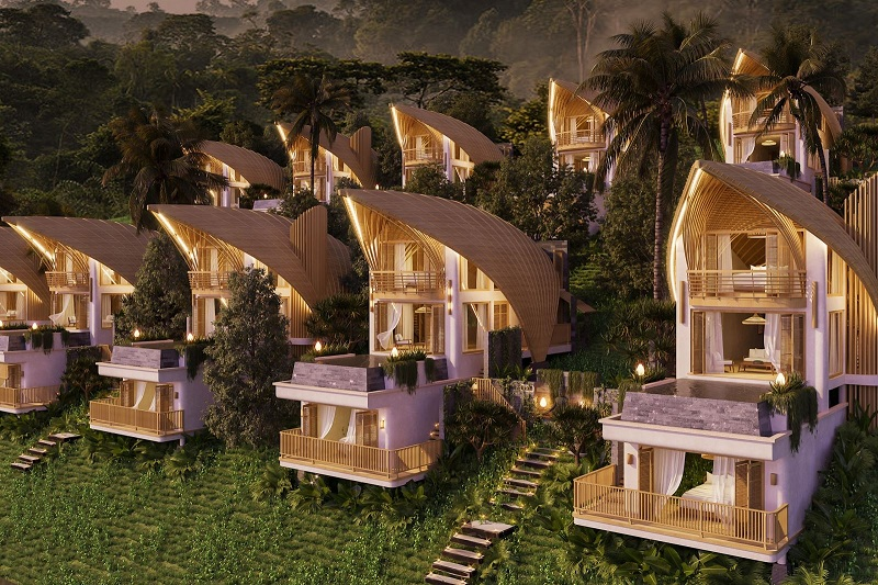 Phối cảnh 3 mẫu biệt thự thuyền ParaHills Resort Hòa Bình