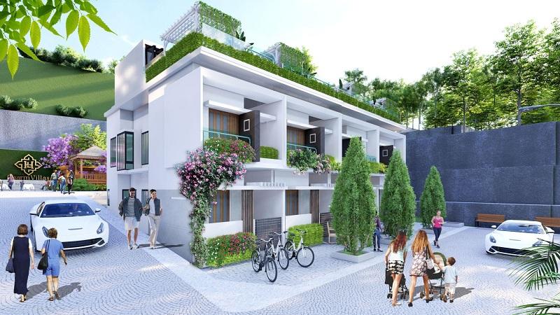 Phối cảnh 4 dự án Hòa Lạc Charm Villas 36 lô Đồng Chằm - Đông Xuân