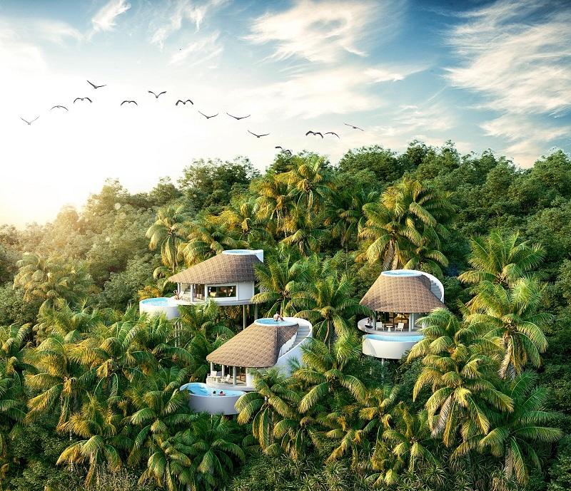 Phối cảnh 4 mẫu biệt thự Ốc ParaHills Resort Hòa Bình