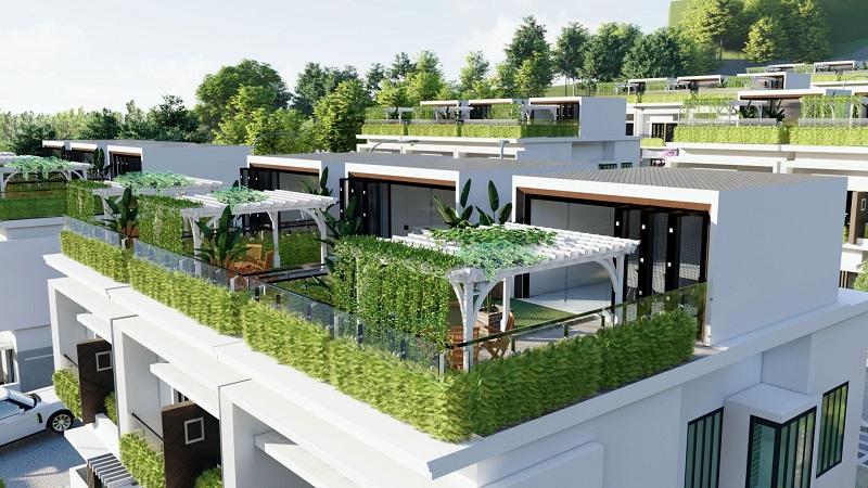 Phối cảnh 5 dự án Hòa Lạc Charm Villas 36 lô Đồng Chằm - Đông Xuân