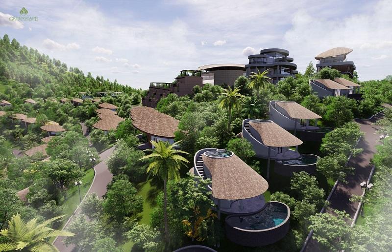 Phối cảnh 5 mẫu biệt thự Ốc ParaHills Resort Hòa Bình