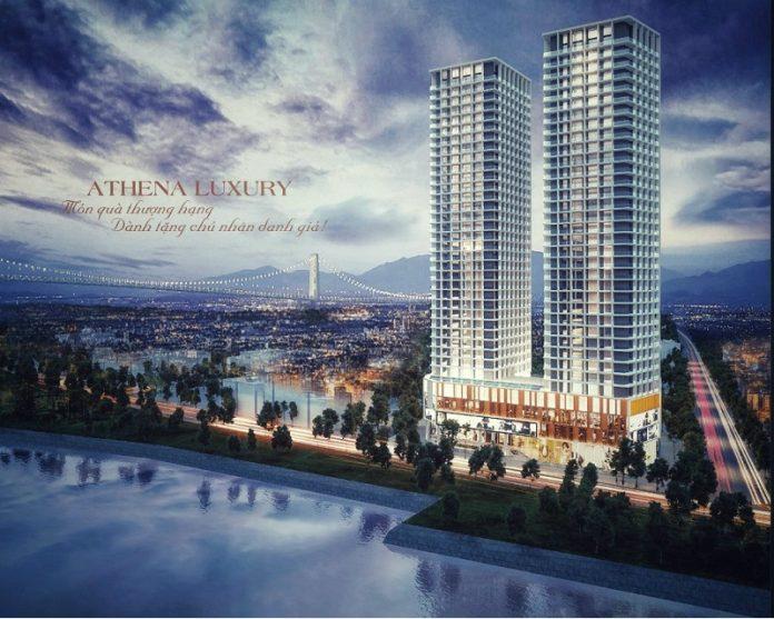 Phối cảnh 1 Athena Luxury Đà Nẵng Riverside