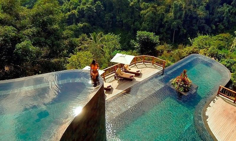 Phối cảnh bể bơi ParaHills Resort Hòa Bình
