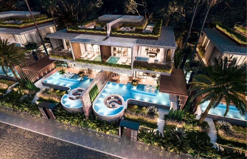 Phối cảnh biệt thự song lập Vega City Bãi Tiên - Nha Trang
