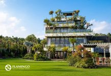 Phối cảnh dinh thự Legend Mansion Flamingo Đại Lải Resort