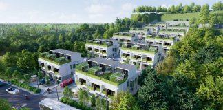 Phối cảnh dự án Hòa Lạc Charm Villas 36 lô Đồng Chằm - Đông Xuân