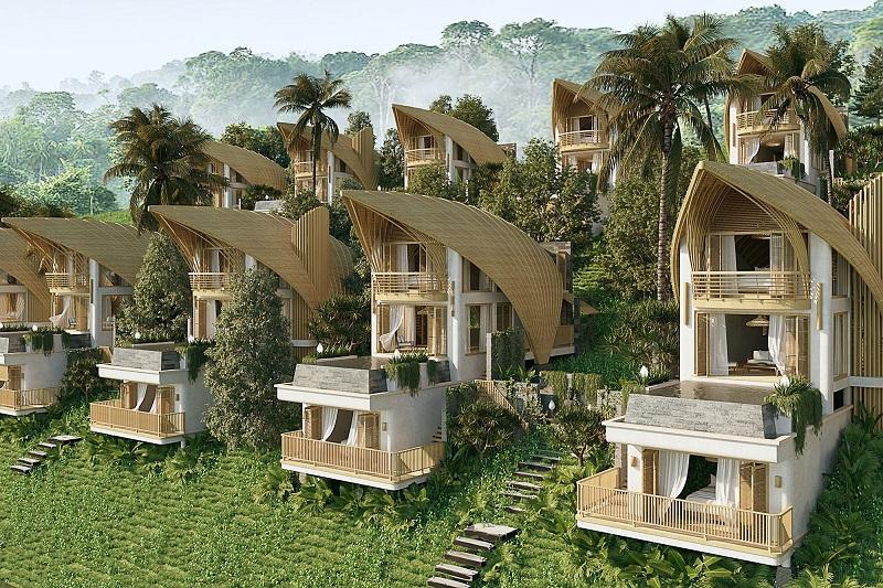 Phối cảnh mẫu biệt thự nhà thuyền ParaHills Resort Hòa Bình