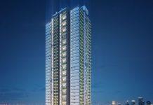 Phối cảnh tòa Diamond dự án Goldmark City 136 Hồ Tùng Mậu