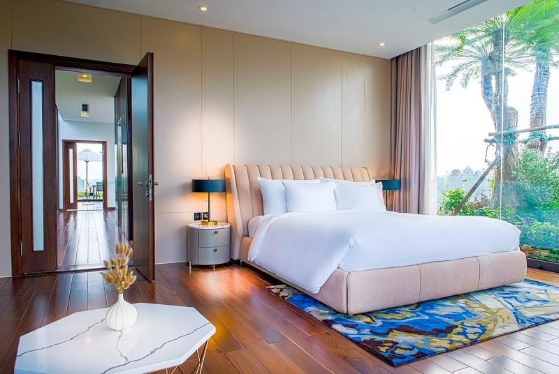 Phòng ngủ 5 dinh thự Legend Mansion Flamingo Đại Lải Resort