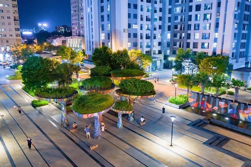 Quảng trường Ruby dự án Goldmark City 136 Hồ Tùng Mậu