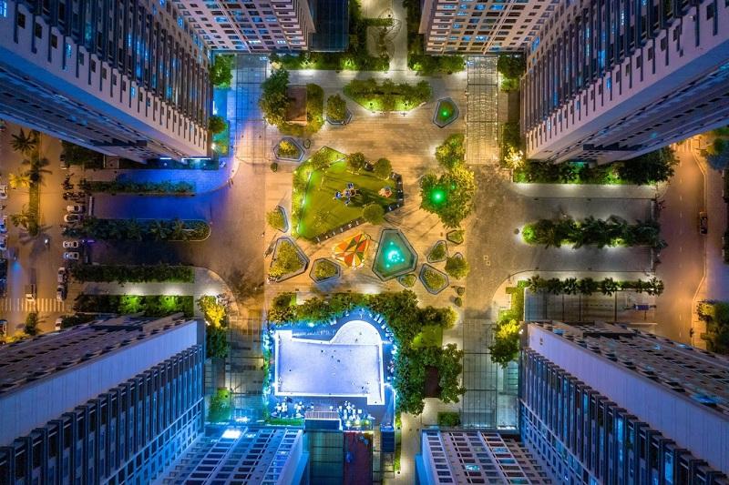 Quảng trường Sapphire dự án Goldmark City 136 Hồ Tùng Mậu