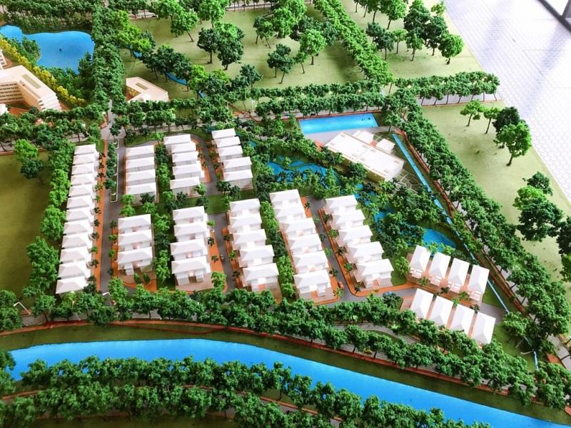 Sa bàn tiểu khu biệt thự Parc 57 Villas khu đô thị Park City Hà Đông