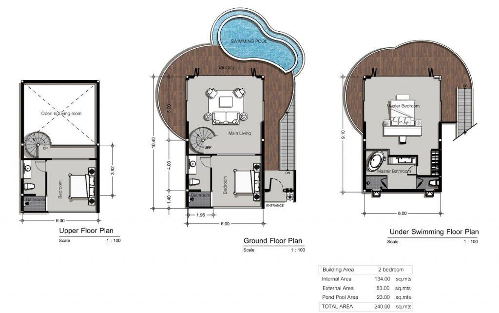 Thiết kế biệt thự nhà thuyền ParaHills Resort Hòa Bình
