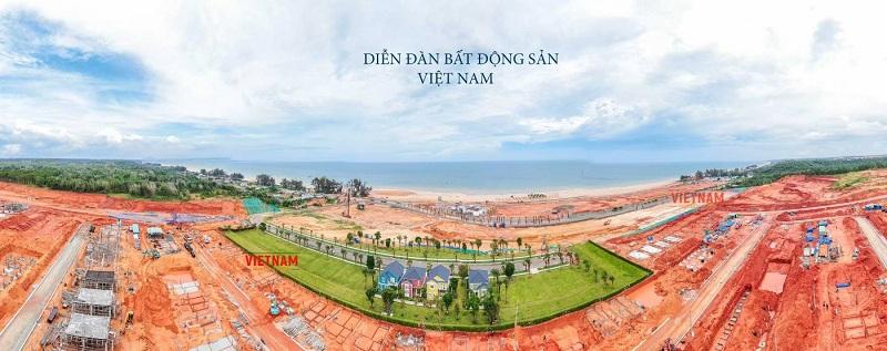 Tiến độ thi công dự án Novaworld Phan Thiết - Bình Thuận