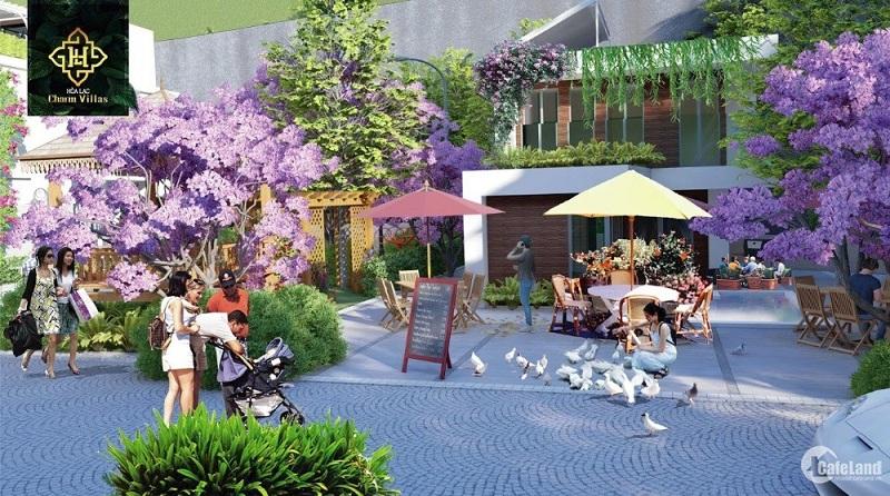 Tiện ích 2 dự án Hòa Lạc Charm Villas 36 lô Đồng Chằm - Đông Xuân