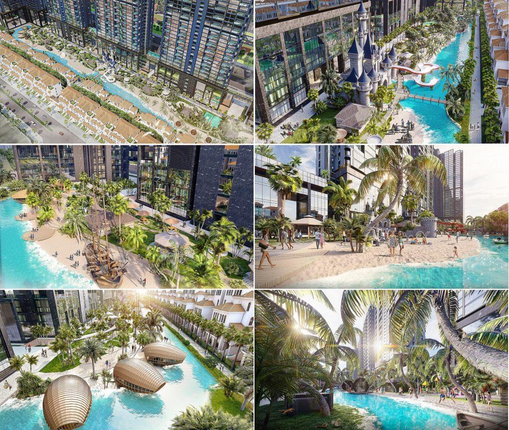 Tiện ích 3 dự án Sunshine Crystal River Ciputra