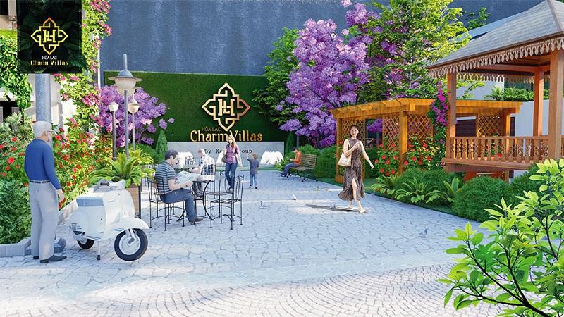 Tiện ích dự án Hòa Lạc Charm Villas 36 lô Đồng Chằm - Đông Xuân