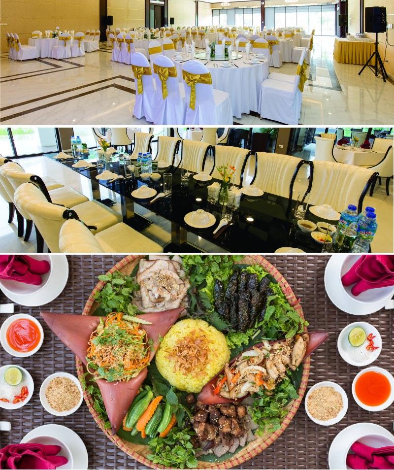 Tiện ích nhà hàng Xanh Villas Resort Hòa Lạc
