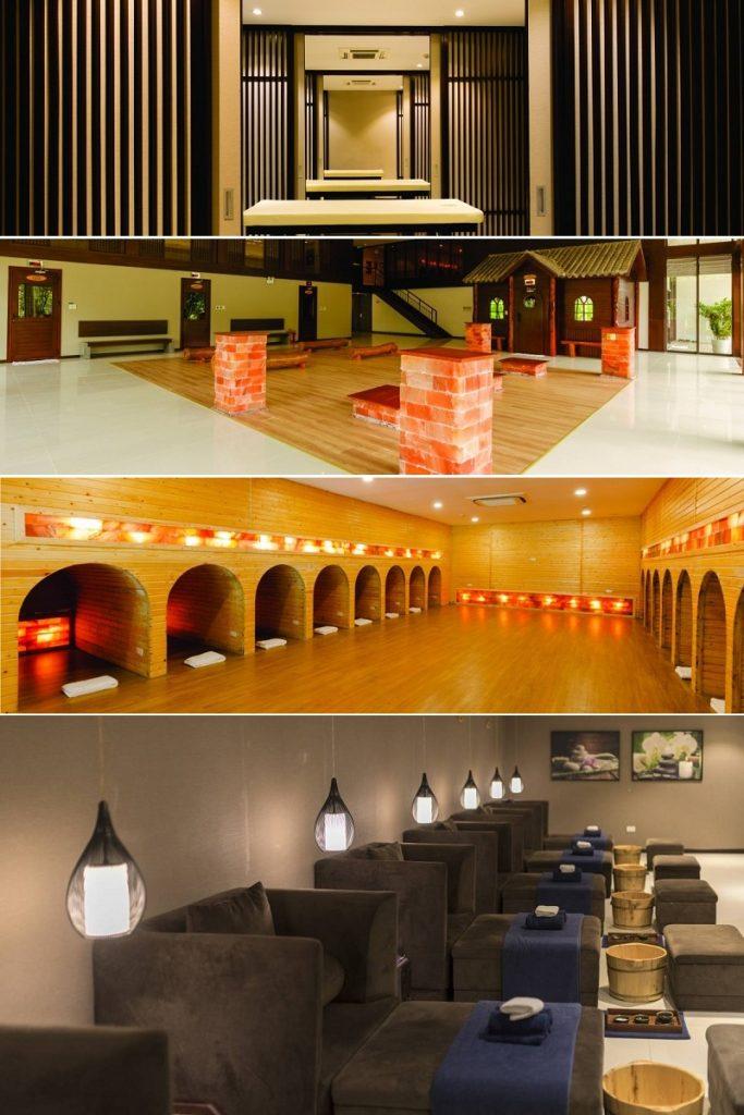 Tiện ích Spa Xanh Villas Resort Hòa Lạc