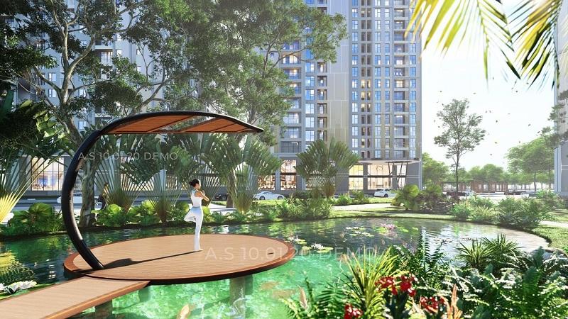 Vườn thiền dự án Feliz Homes Đền Lừ - Hoàng MaiVườn thiền dự án Feliz Homes Đền Lừ - Hoàng Mai