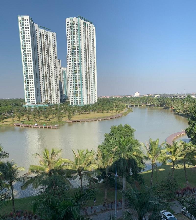 Ảnh view thực tế 1 nhà phố triệu đô Shophouse Marina Arc Ecopark