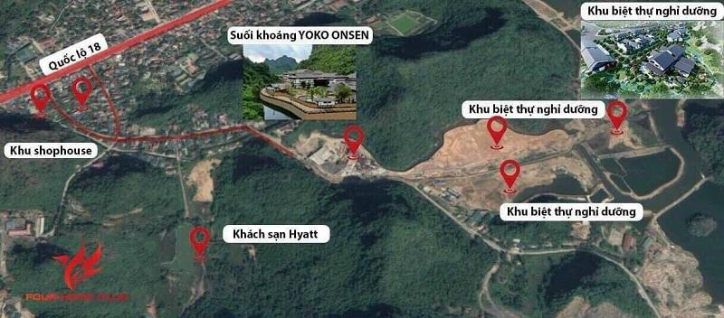 Kết nối dự án Sun Quang Hanh Yoko Onsen Villa