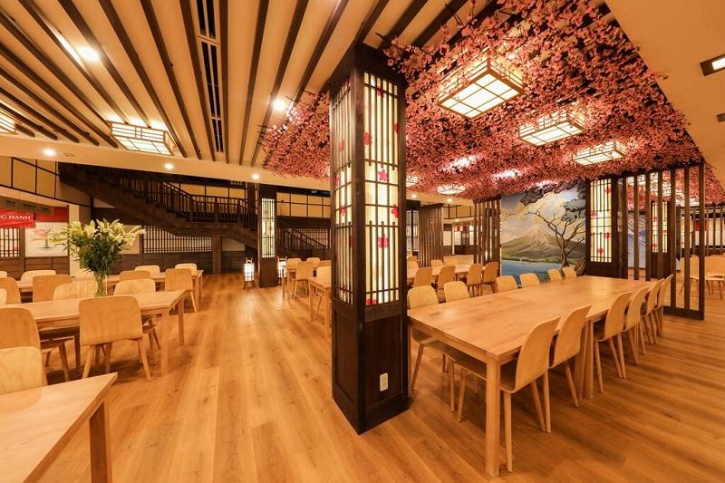 Nhà hàng Yoko Onsen Quang Hanh Sungroup Quảng Ninh