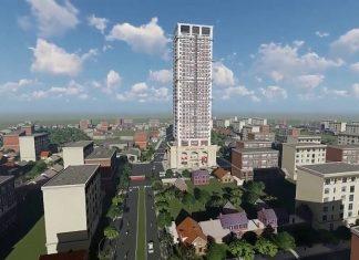 Phối cảnh dự án Thái Nguyên Tower