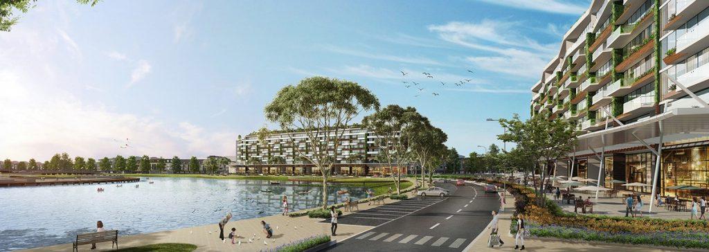 Phối cảnh nhà phố triệu đô Shophouse Marina Arc Ecopark