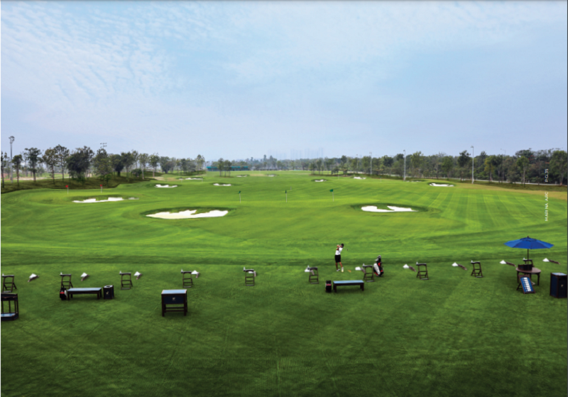 Sân golf cạnh nhà phố triệu đô Shophouse Marina Arc Ecopark