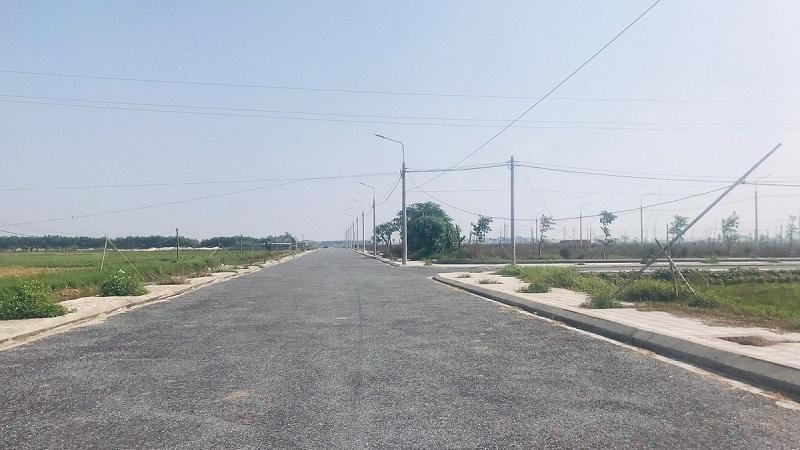 Ảnh thực tế 1 khu dân cư Bắc Đồng Đầm - Tiền Hải - Thái Bình