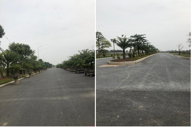 Ảnh thực tế 2 dự án Từ Sơn Garden City Nam Hồng