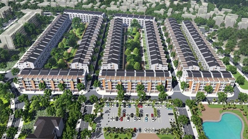 Bãi đỗ xe đất đấu giá Đông Phong - Yên Phong - Bắc Ninh Văn Phú Invest
