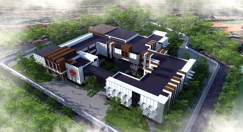 Bệnh viện dự án Chí Linh Palm City - Trường Linh Hải Dương