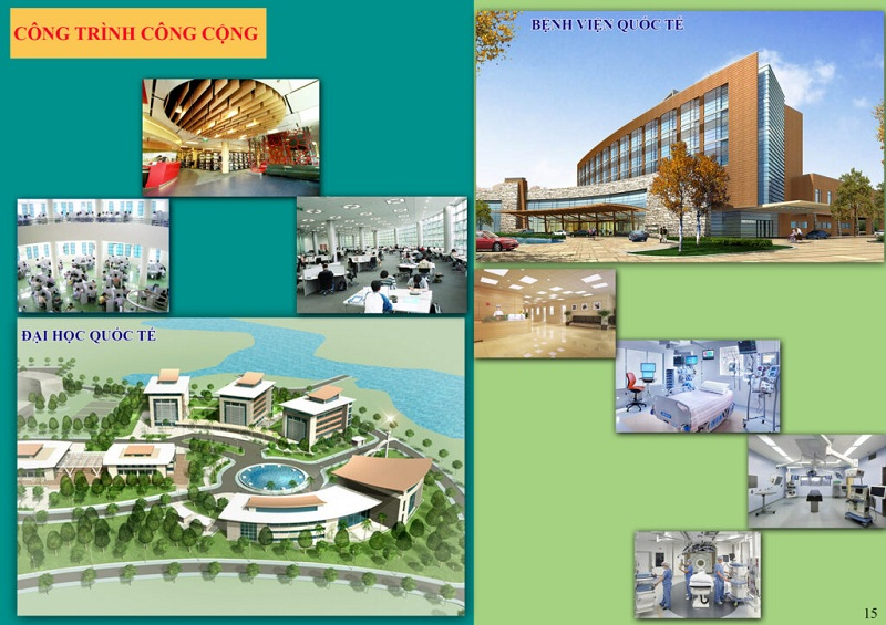 Công trình công cộng dự án Từ Sơn Garden City Nam Hồng