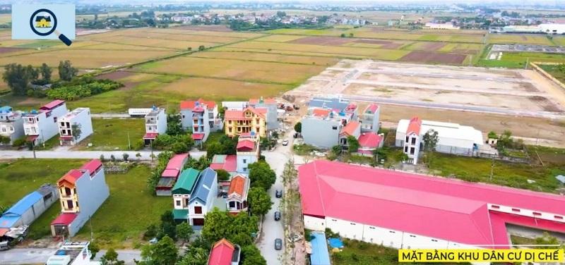 Flycam 2 khu đấu giá Dị Chế - Tiên Lữ - Hưng Yên